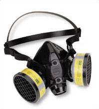 maski przeciwsmogowe - pół maska przemysłowa z filtrami