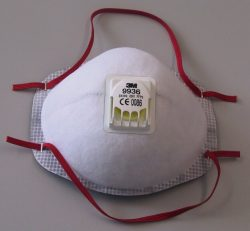 maski przeciwpyłowe - certyfikowana pół maska