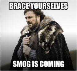 Szykujcie się.. smog nadchodzi