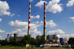 zanieczyszczenie powietrza - elektrociepłowania Łęg